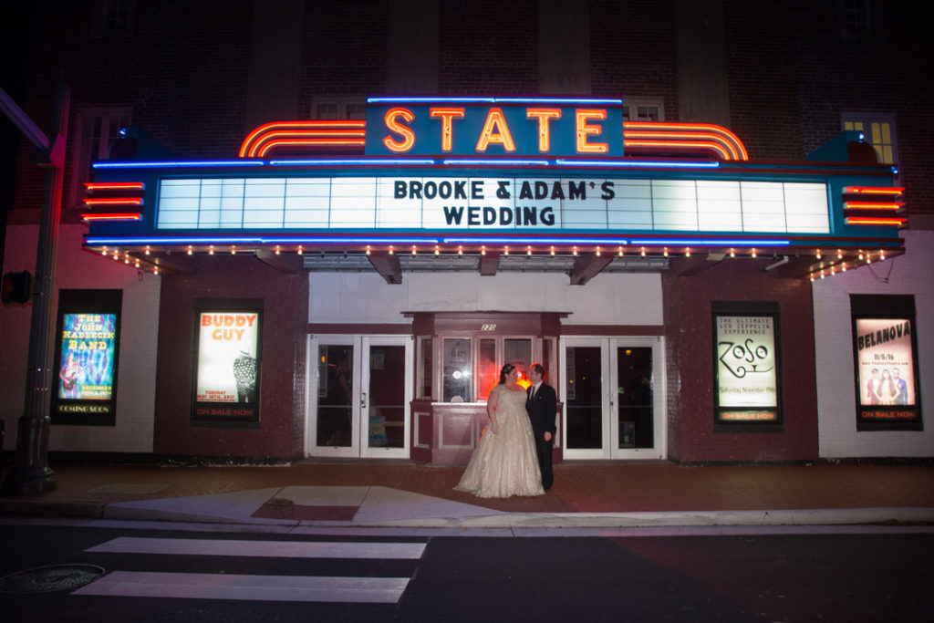 wedding state theatre falls church virginia