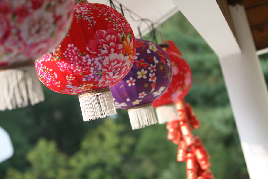 chinese paper lanterns wedding