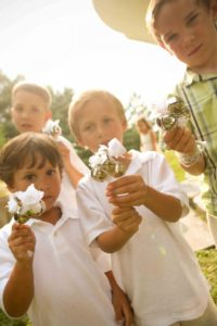 bell ringers wedding ceremony children