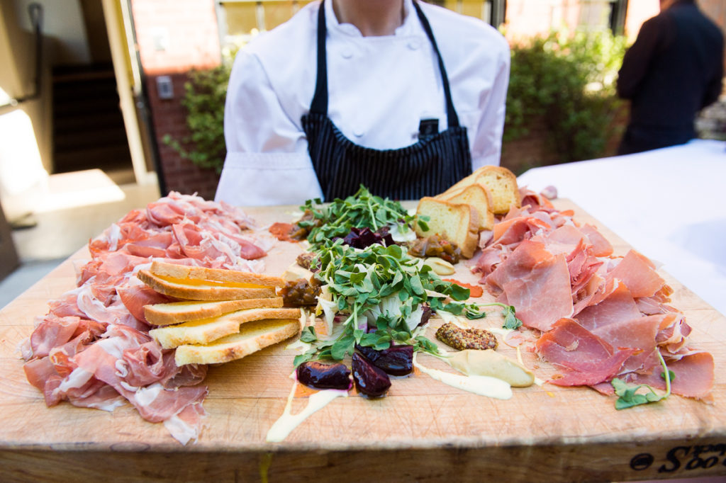 volt-restaurant-charcuterie-display-wedding