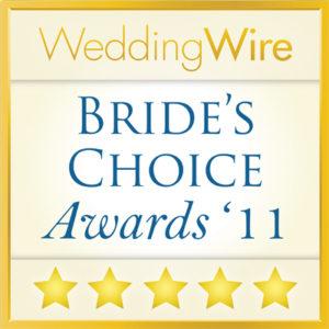 WeddingWire Brides Choice Awards Event Accomplished Best Wedding Planner Washington DC 2011