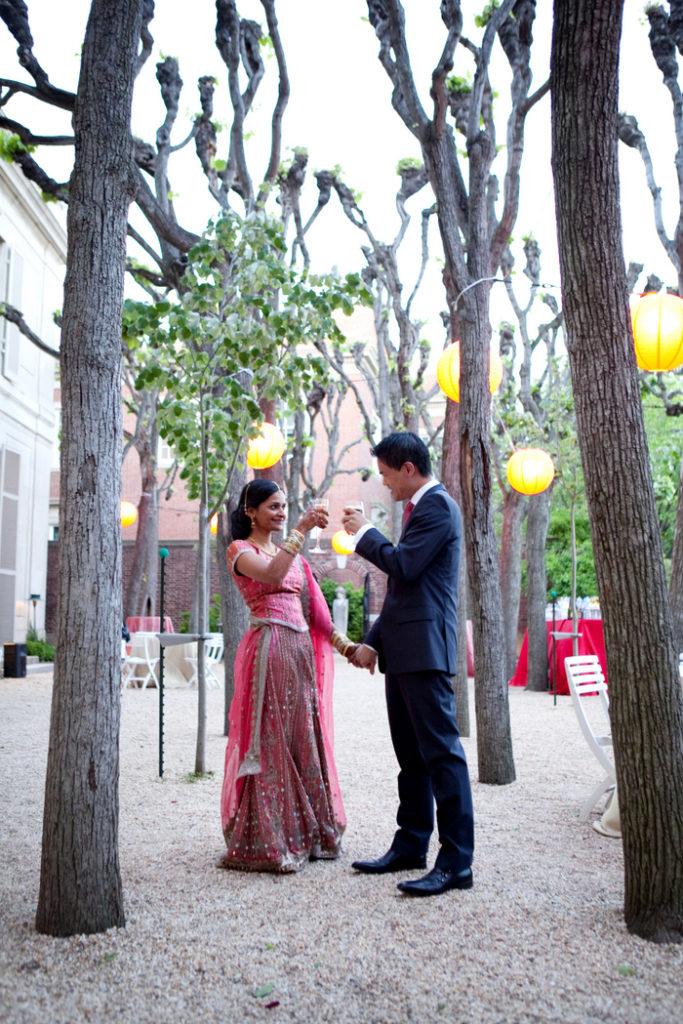 Meridian House Washington DC Indian Chinese wedding