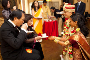 Meridian House Washington DC wedding Chinese tea ceremony