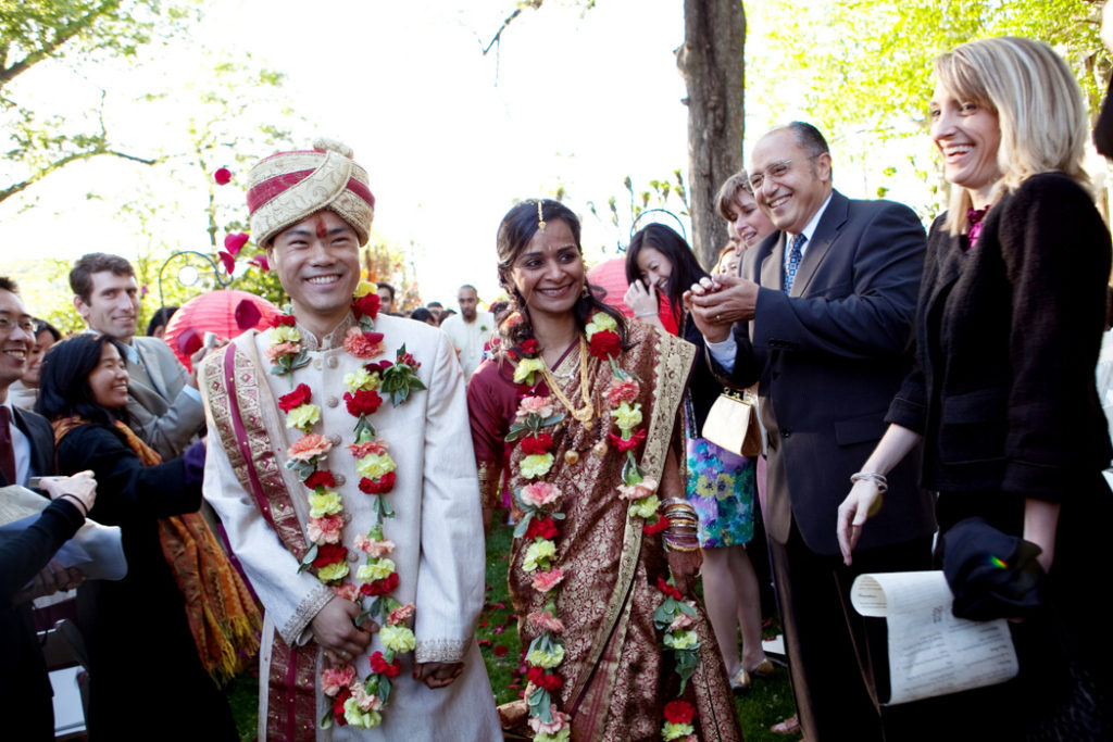 Meridian House Washington DC wedding Hindu Indian ceremony garden