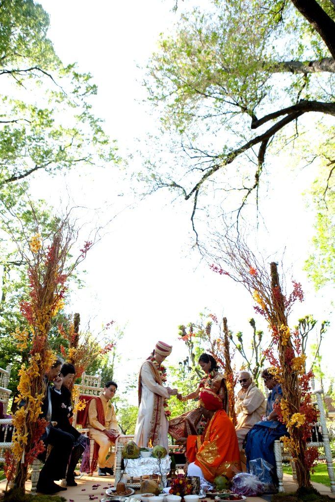 Meridian House Washington DC wedding Hindu Indian ceremony