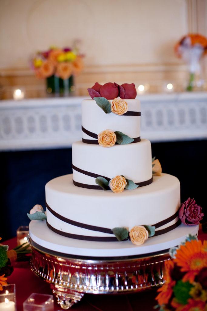 pastries by randolph arlington va wedding cake fondant round sugar flowers