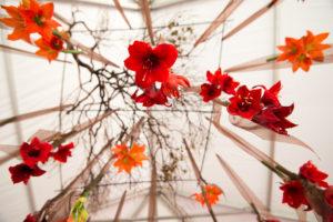 Volt-Restaurant-Wedding-Enmasse-floral-suspended-flowers-tent