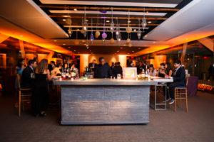 Newseum wedding organic warm jewel tones bar