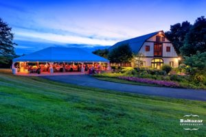 Sunset Crest Manor Chantilly Virginia wedding tent summer