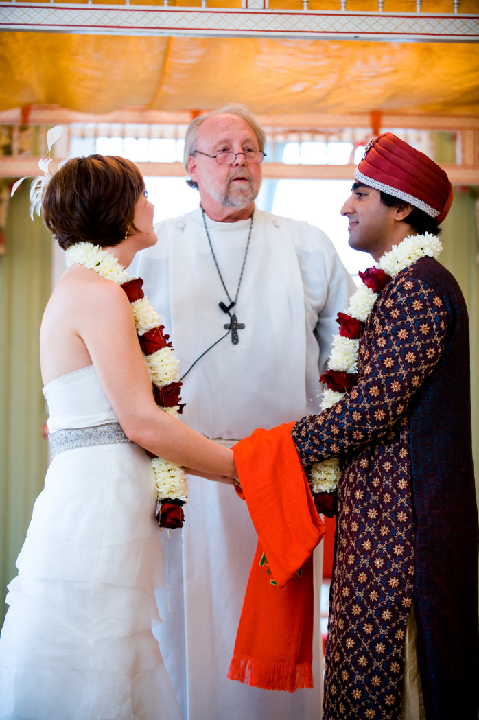 hindu lutheran wedding ceremony Oxon Hill Manor