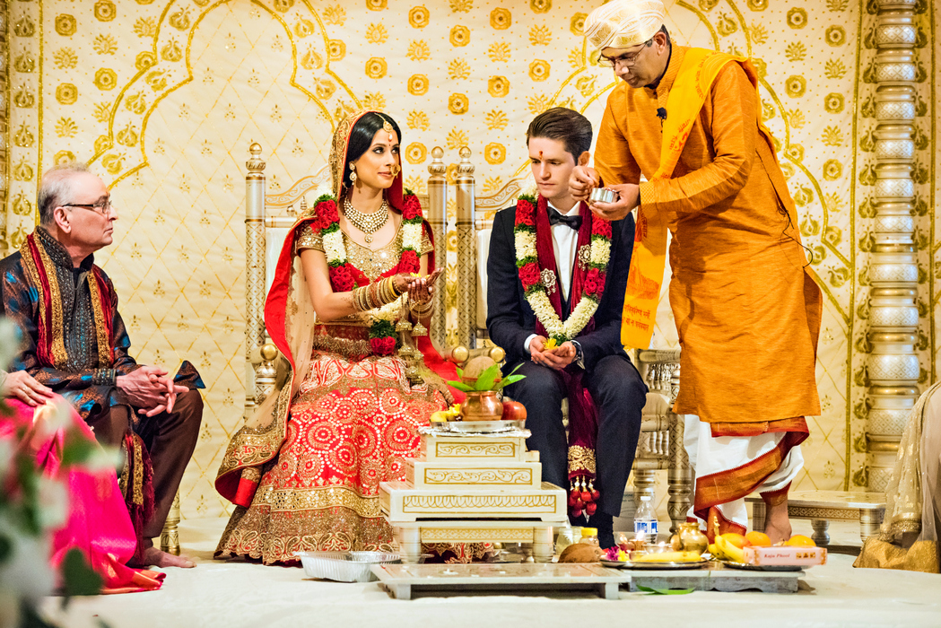 indian fusion wedding Washington DC Mayflower Hotel hindu christian ceremony