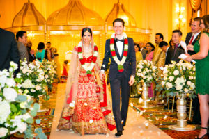 indian fusion wedding Washington DC Mayflower Hotel state ballroom