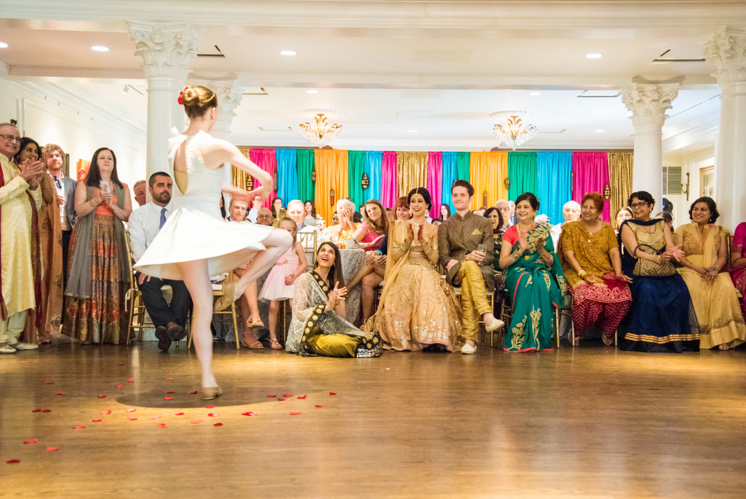 indian wedding Washington DC coed mehndi party whittemore house dance performance
