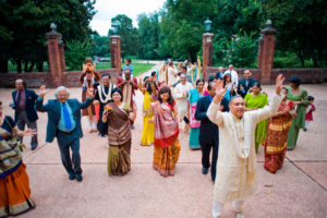 indian wedding ceremony Oxon Hill Manor baraat