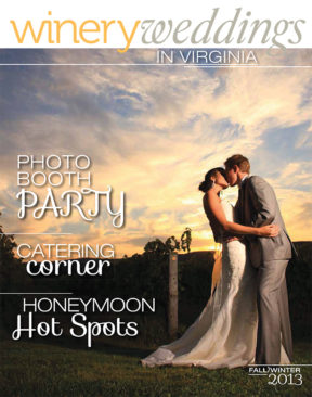 winery weddings magazine fall 2013