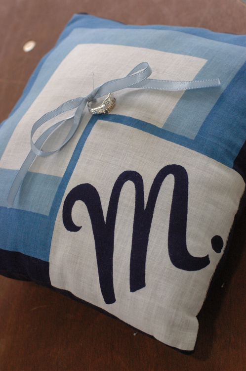 ring-pillow-blue-monogram