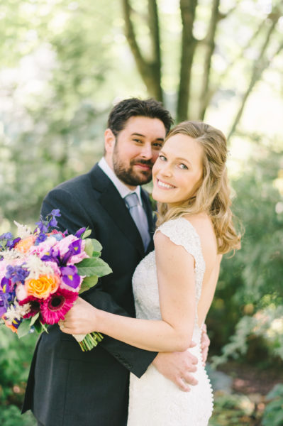 meadowlark botanical gardens bride groom portraits wedding