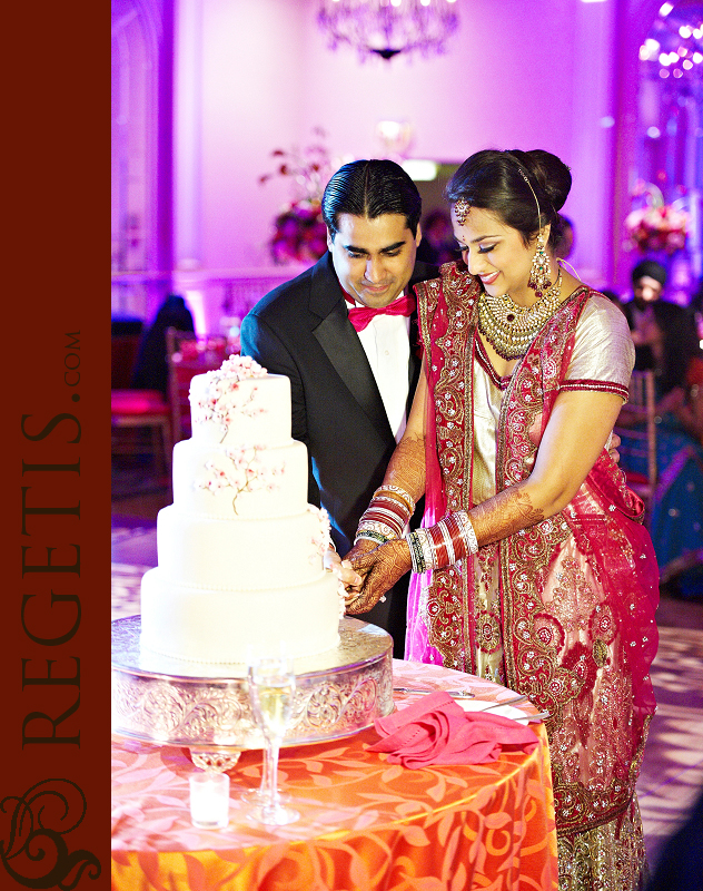 Wedding Reception at Fairmont Hotel, Washington DC