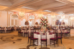 Fairmont Hotel Washington DC fall wedding grand ballroom