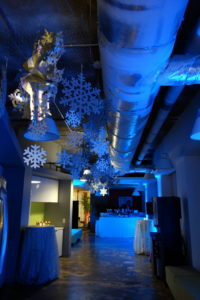 corporate event holiday party winter washington dc in office