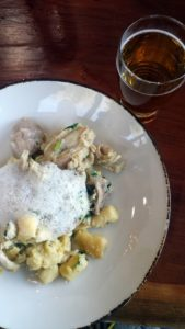 corporate marketing luncheon caboose brewing gnocchi