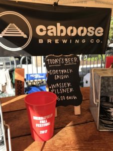 merrifield fall festival 2017 caboose brewing company beer garden