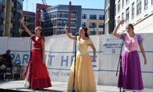 merrifield fall festival 2017 fairfax virginia vienna singing princesses