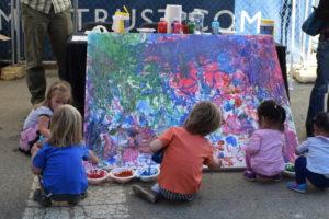 merrifield fall festival 2017 kids painting