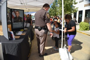 merrifield fall festival 2017 sheriff department kids ID