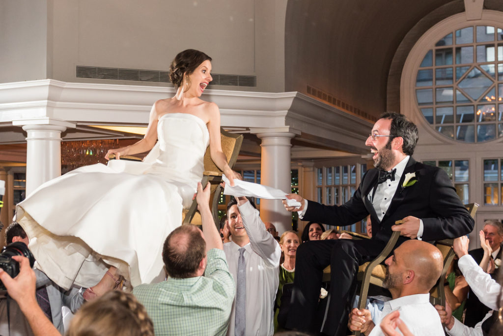 Fairmont-Hotel-wedding-jewish-hora-Washington-DC-Colonnade-Ballroom