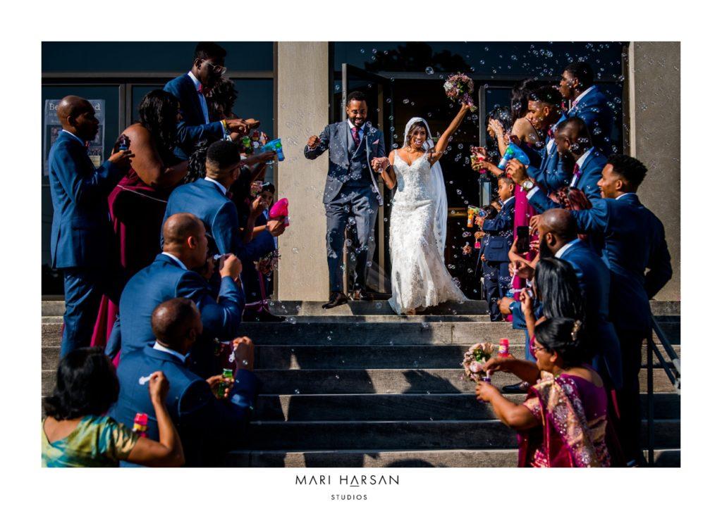 Sligo-Seventh-day-Adventist-Church-wedding-bubbles-exit