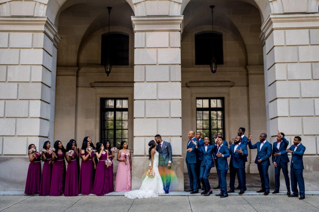 washington-dc-wedding-party-portraits-federal-triangle