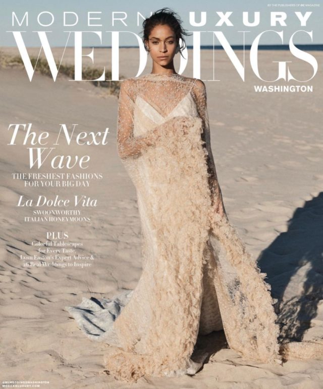 modern luxury weddings washington winter 2019