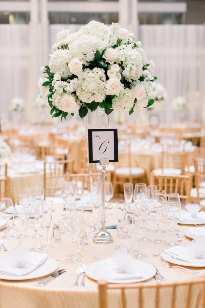 ronald-reagan-building-atrium-wedding-tall-floral-centerpiece-white