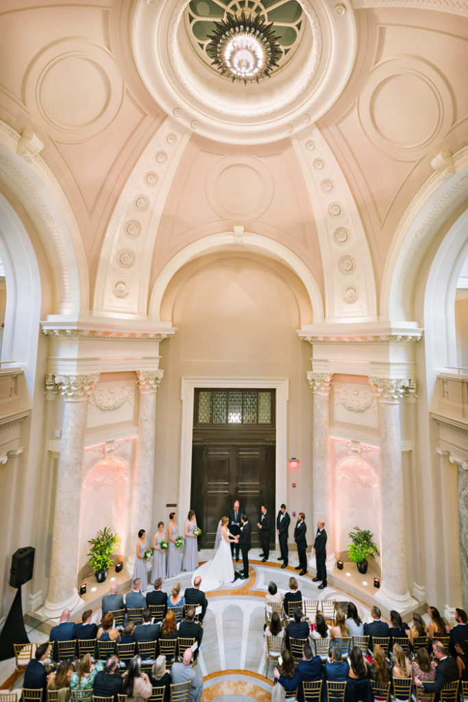 carnegie-institute-of-science-ceremony-processional-staircase
