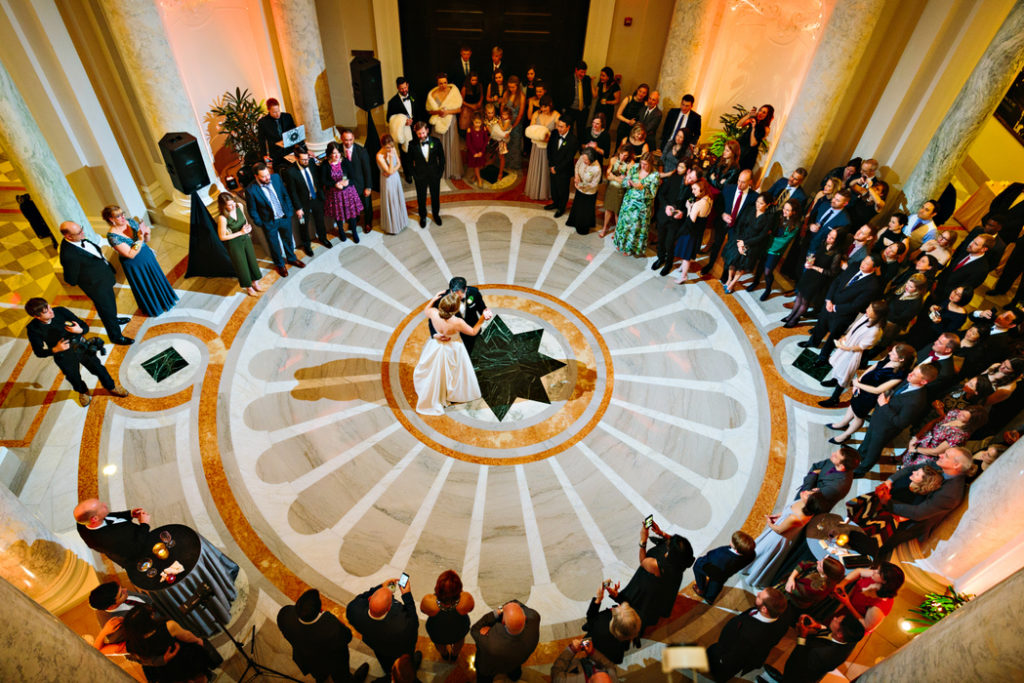carnegie-institute-of-science-washington-dc-wedding-first-dance