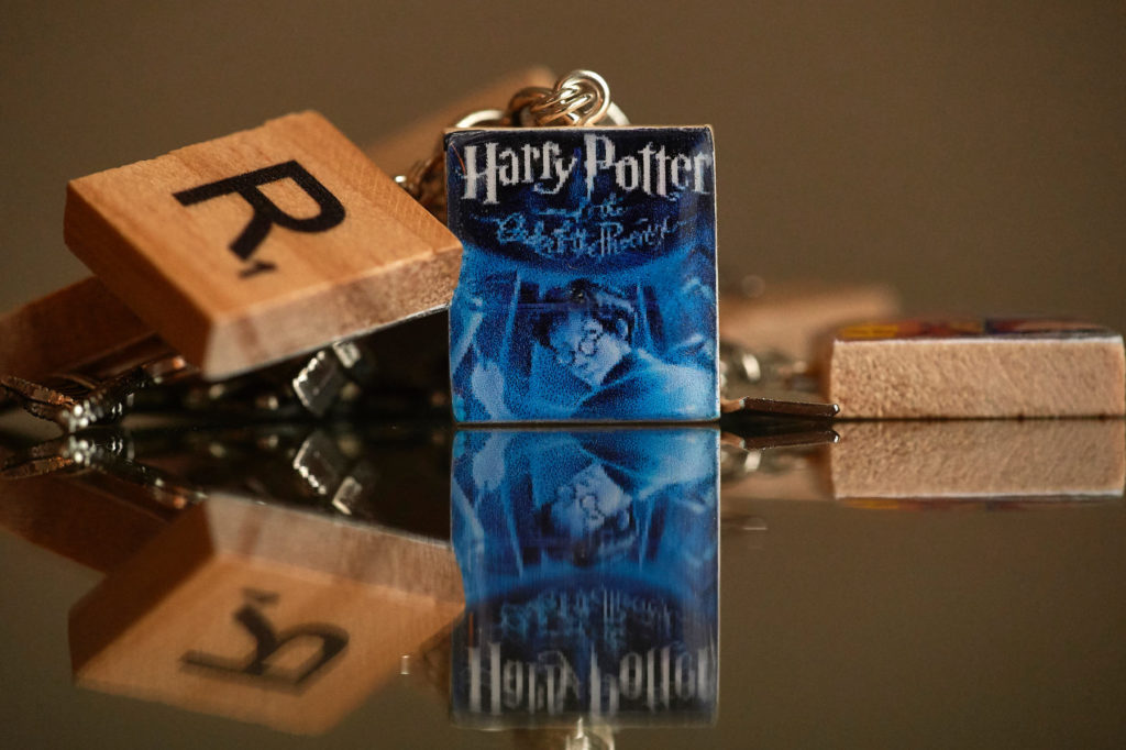 harry potter book charms bridal bouquet handle