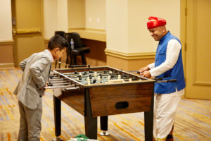wedding-foosball-lansdowne-resort