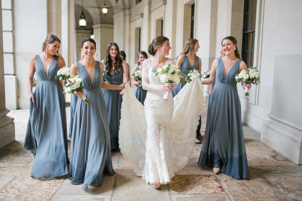 gray_blue_bridesmaids_dress_winter